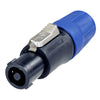 Neutrik 4-Pin Inline speakON Connector - NL4FC - Neon Production Supply