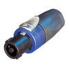 Neutrik 4-Pin Inline speakON Connector - NL4FX - Neon Production Supply