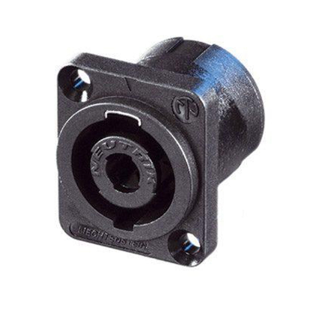 Neutrik 4-Pin Chassis speakON Connector, D-Size Flange - NL4MP