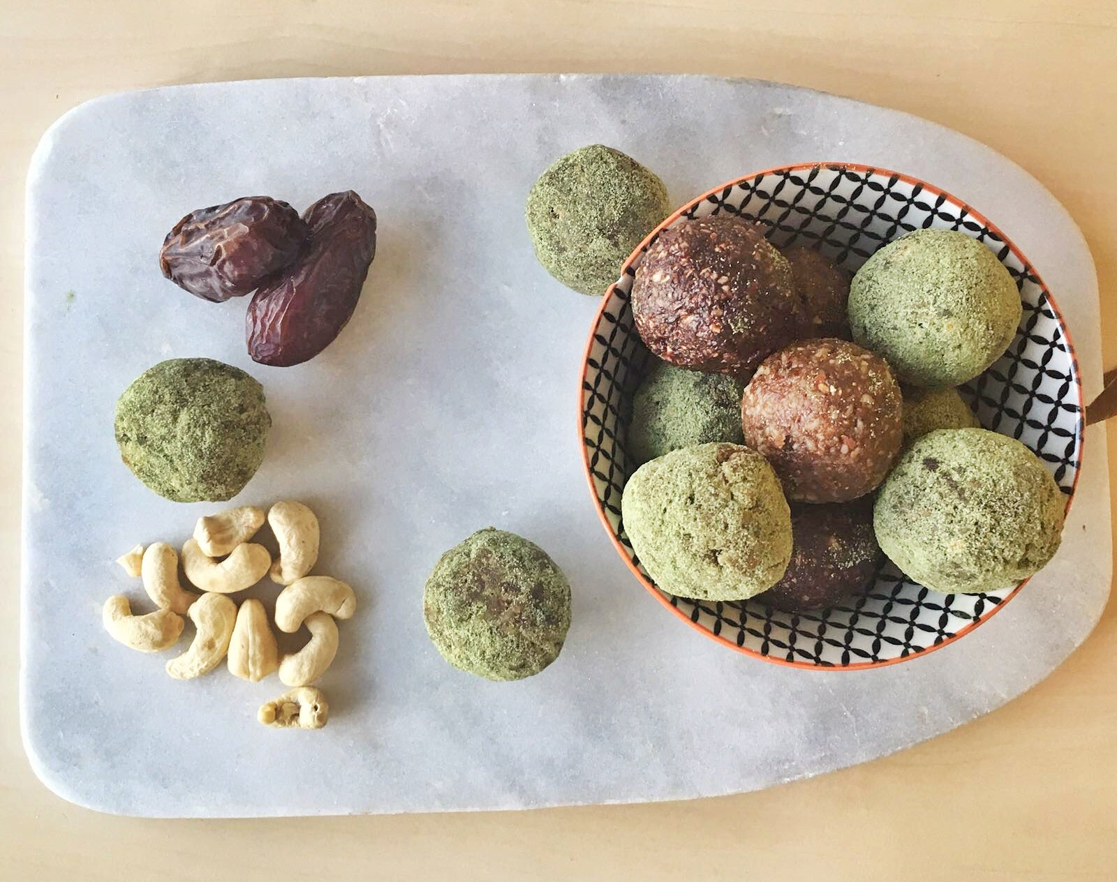 raw matcha energy balls energy healthy truestory cold pressed juicery amsterdam
