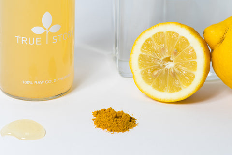 raw honey, lemon detox cleanse drink with cayenne pepper