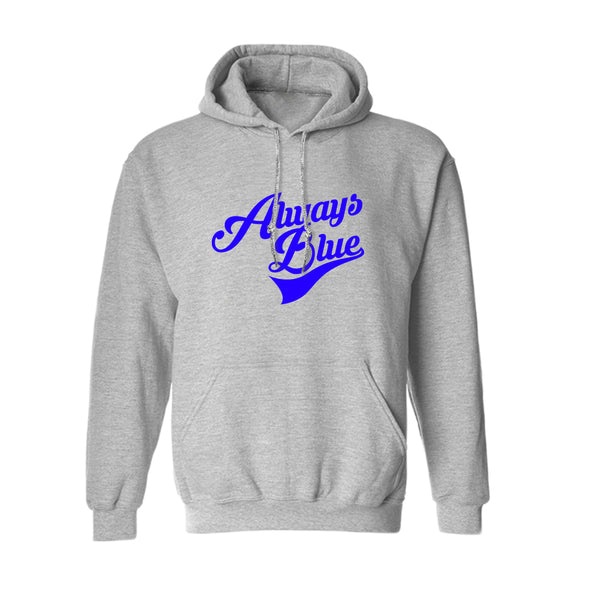 Always Blue Quote Game Graphic Men's Hoodie