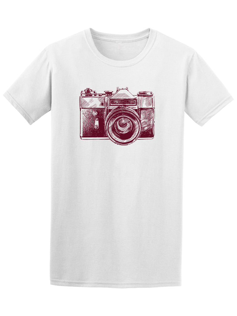 Antique Vintage Camera Sketch Tee - Image by Shutterstock