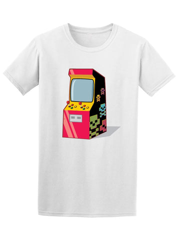Arcade Gaming Colorful Machine Tee Men's -Image by Shutterstock