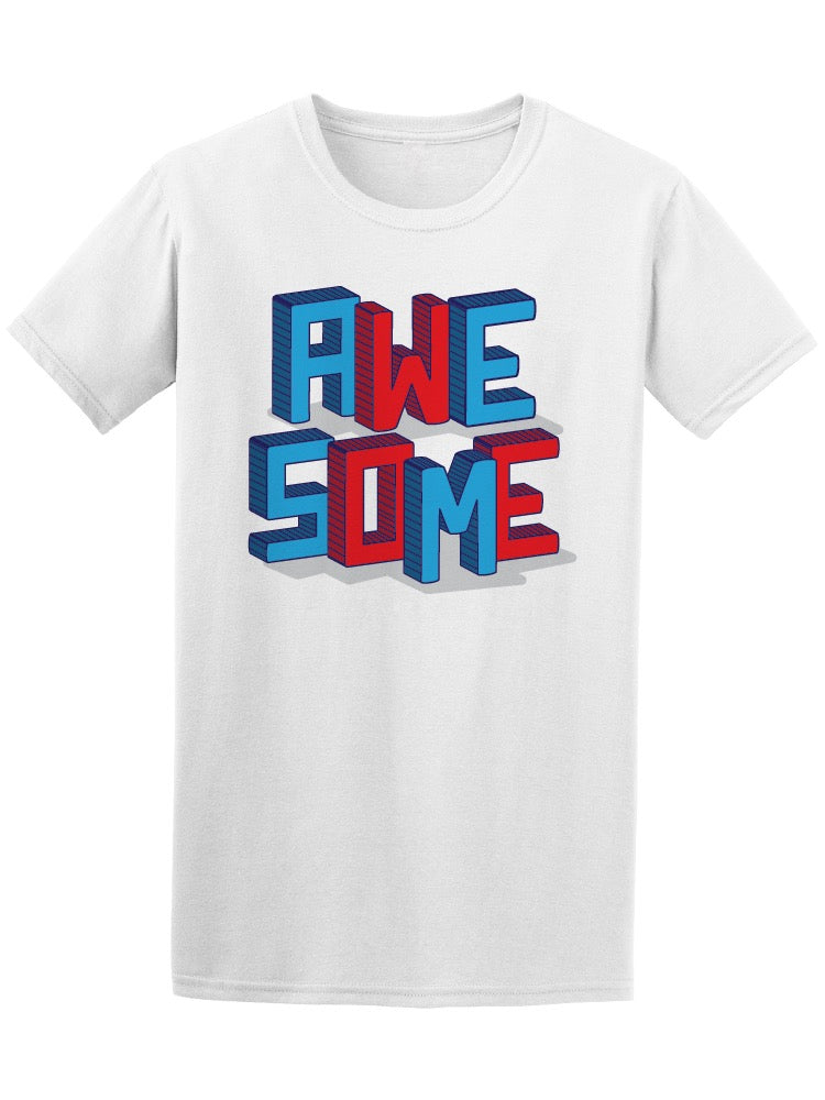 Awesome Sport Typography Tee Men's -Image by Shutterstock
