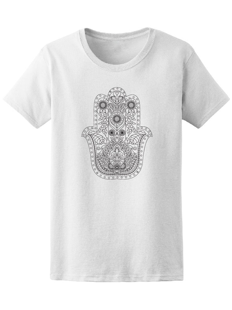 Abstract Mandala Hand Women's Tee - Image by Shutterstock