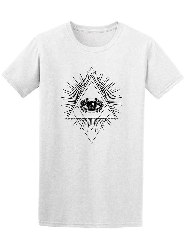 All Seeing Eye Triangle Men's Tee - Image by Shutterstock