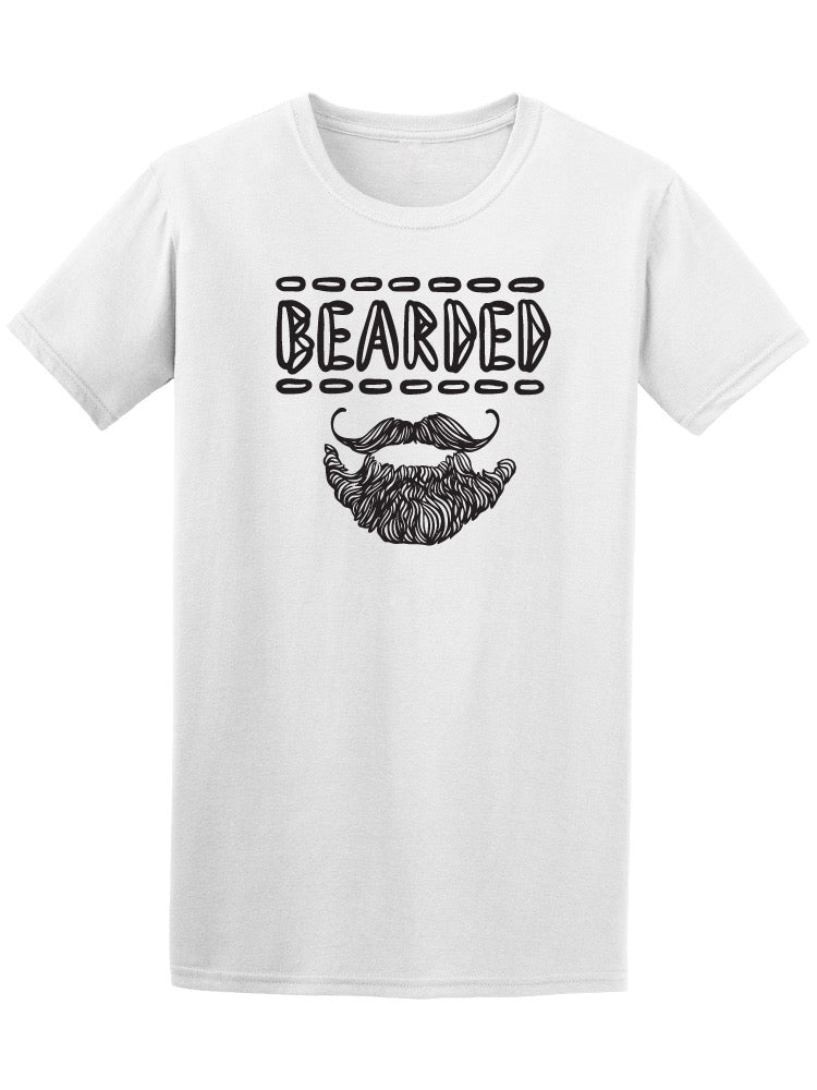 Bearded Hand Drawn Tee Men's -Image by Shutterstock