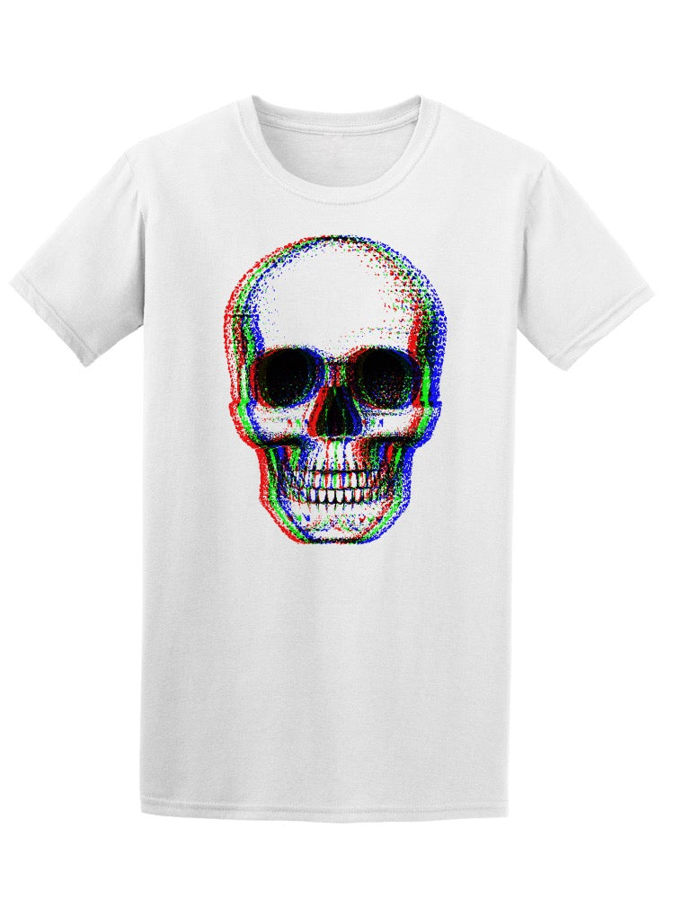 3D Effect Skull Tee Men's -Image by Shutterstock
