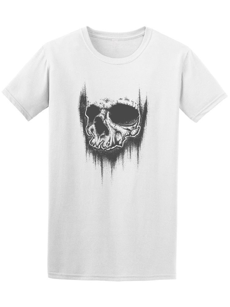 Abstract Grunge Skull Men's Tee - Image by Shutterstock
