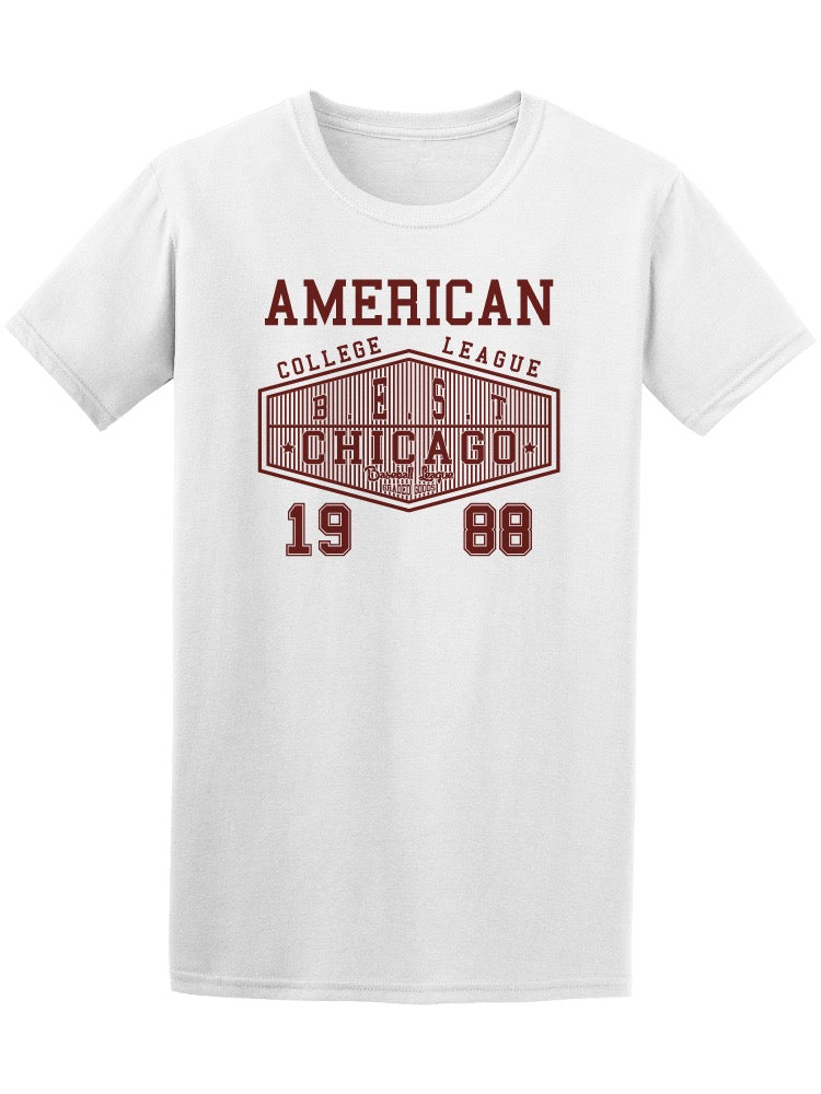 American Chicago College League Tee Men's -Image by Shutterstock