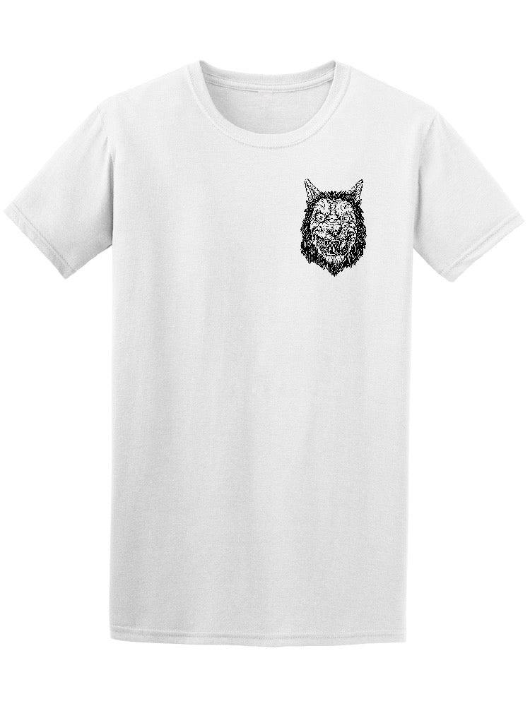 Angry Smiling Werewolf Men's Tee - Image by Shutterstock