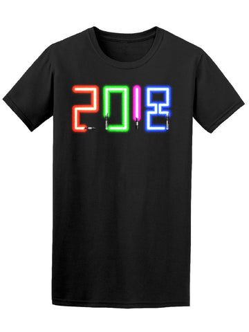 2018 Made By Modern Lightsabers Tee Men's -Image by Shutterstock