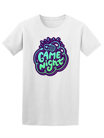 Game Night Trendy Graphic Quote Tee Men's -Image by Shutterstock