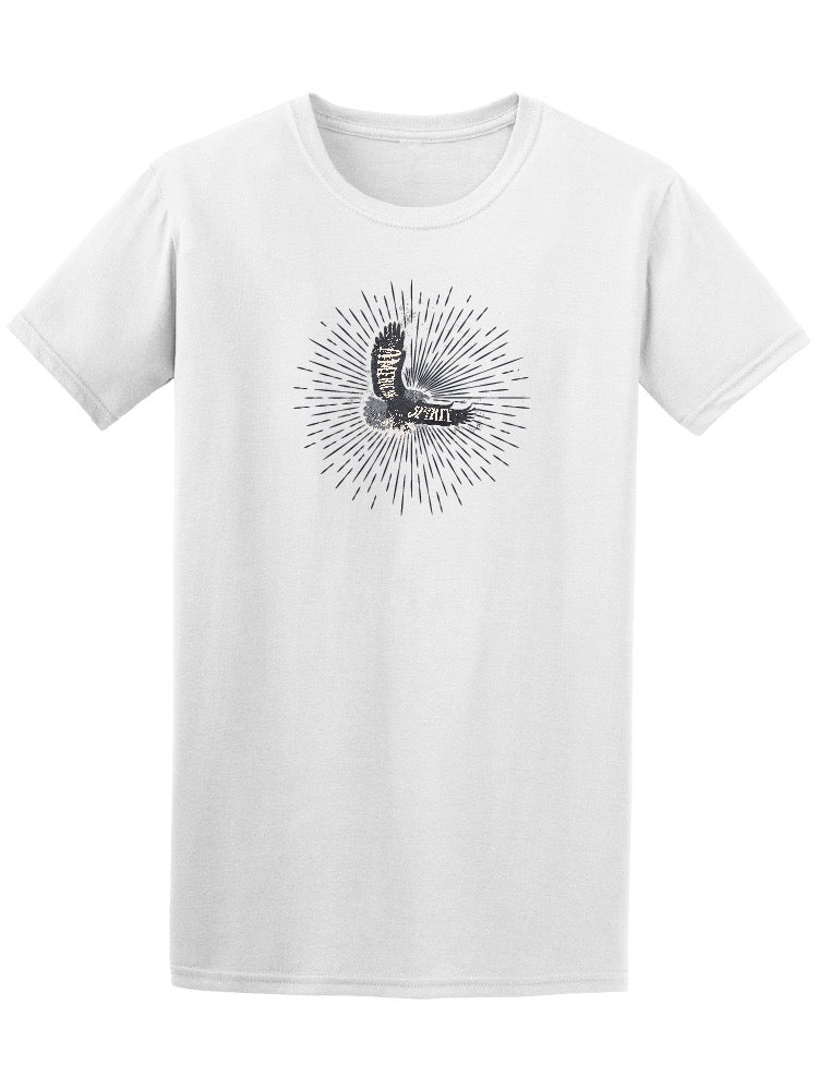 American Spirit Beautiful Eagle Tee Men's -Image by Shutterstock