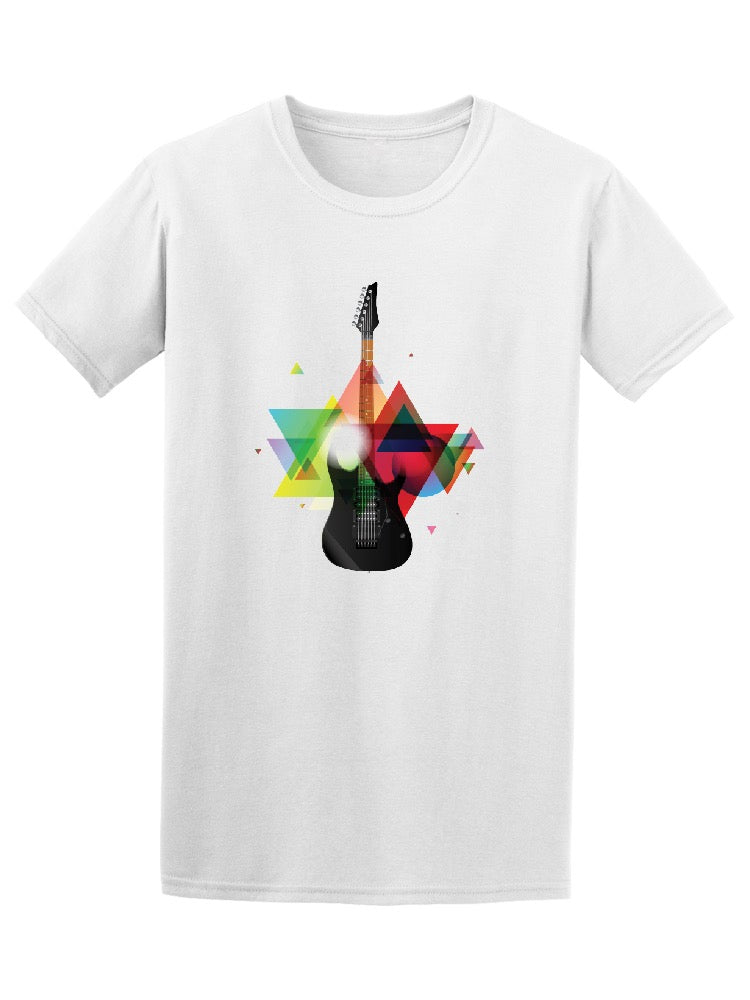 Awesome Electric Guitar Tee Men's -Image by Shutterstock