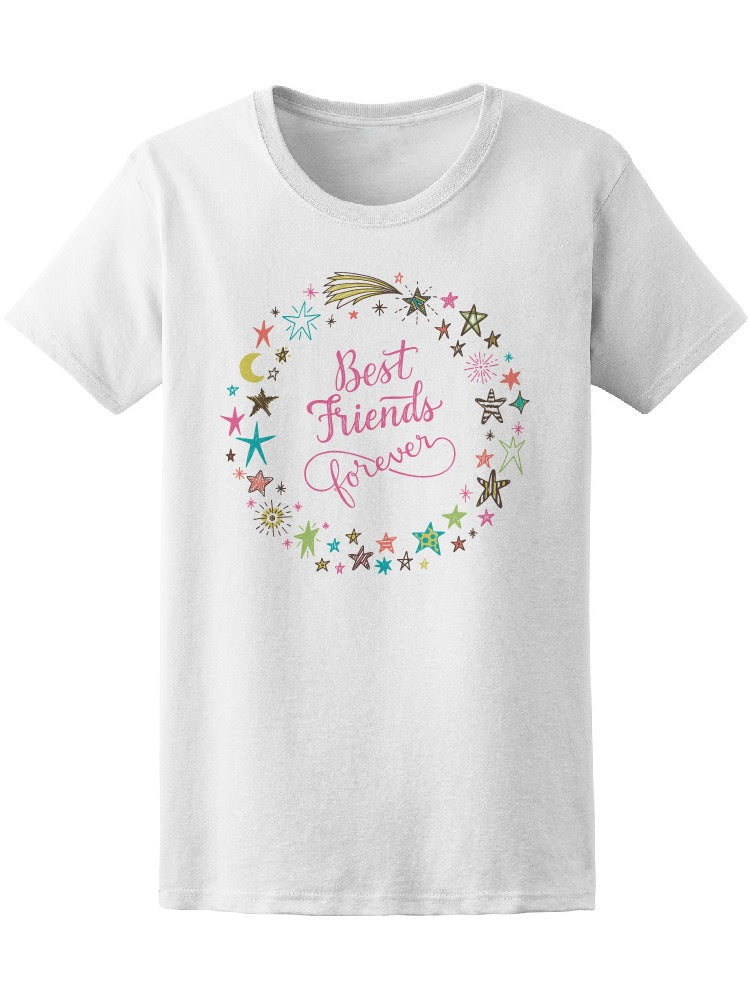 Best Friends Forever Star Frame Tee Women's -Image by Shutterstock