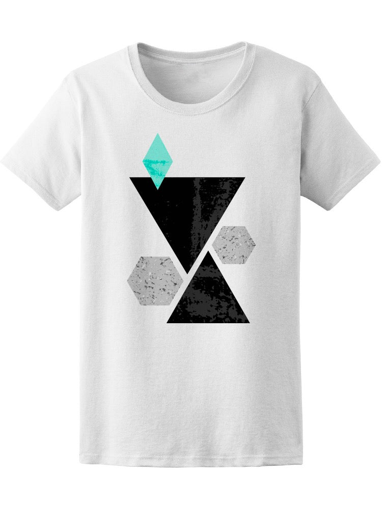 Abstract Composition Tee Women's -Image by Shutterstock