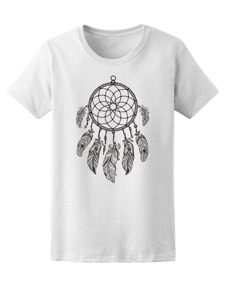 Beautiful Dreamcatcher Sketch Tee Women's -Image by Shutterstock