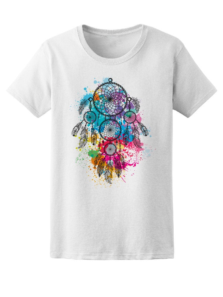 Amazing Watercolor Dreamcatcher Tee Women's -Image by Shutterstock