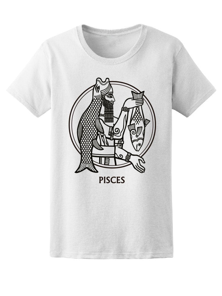 Amazing Tribal Pisces Sketch Tee Women's -Image by Shutterstock