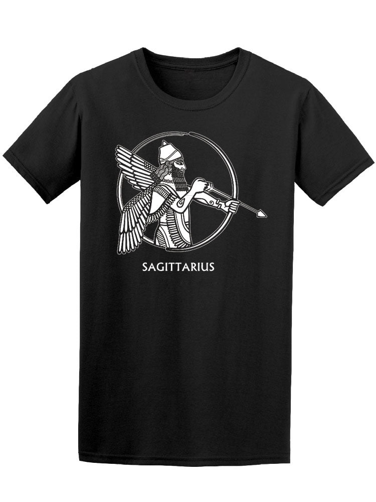 Amazing Sagittarius Tribal Man Tee Women's -Image by Shutterstock