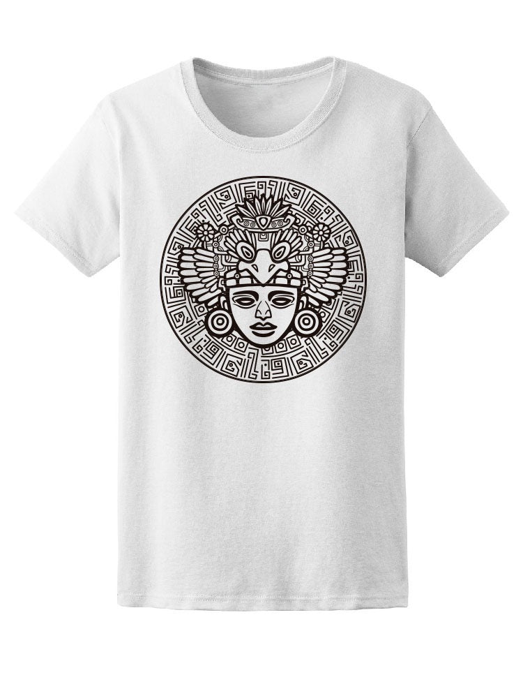 Ancient Symbols Tribal Shaman Tee Women's -Image by Shutterstock
