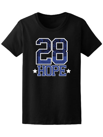 28 Hope Tee Women's -Image by Shutterstock