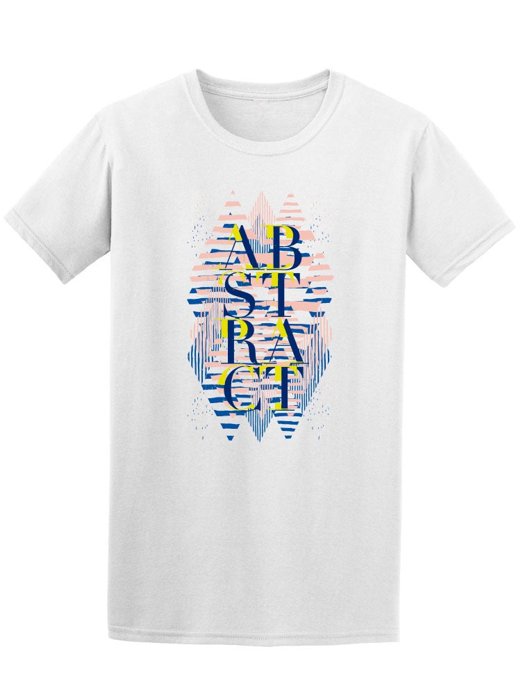 Abstract Geometric Design Tee Men's -Image by Shutterstock