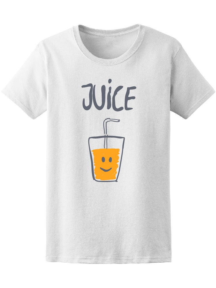 Cute juice glass food lovers tee women 39 s image by for Shutterstock t shirt design
