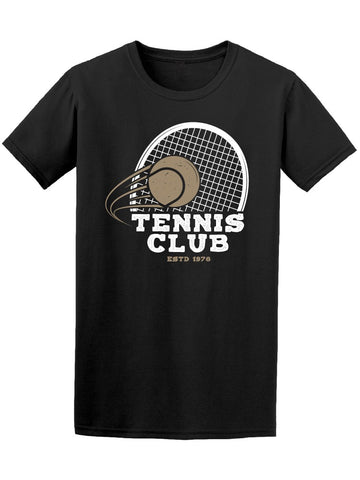 Tennis Club Racket And Ball Tee Men's -Image by Shutterstock
