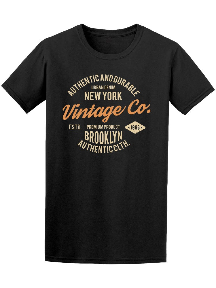 Authentic And Durable Vintage Co Tee Men's -Image by Shutterstock