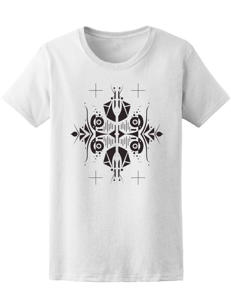 Abstract Black And White Element Tee Women's -Image by Shutterstock