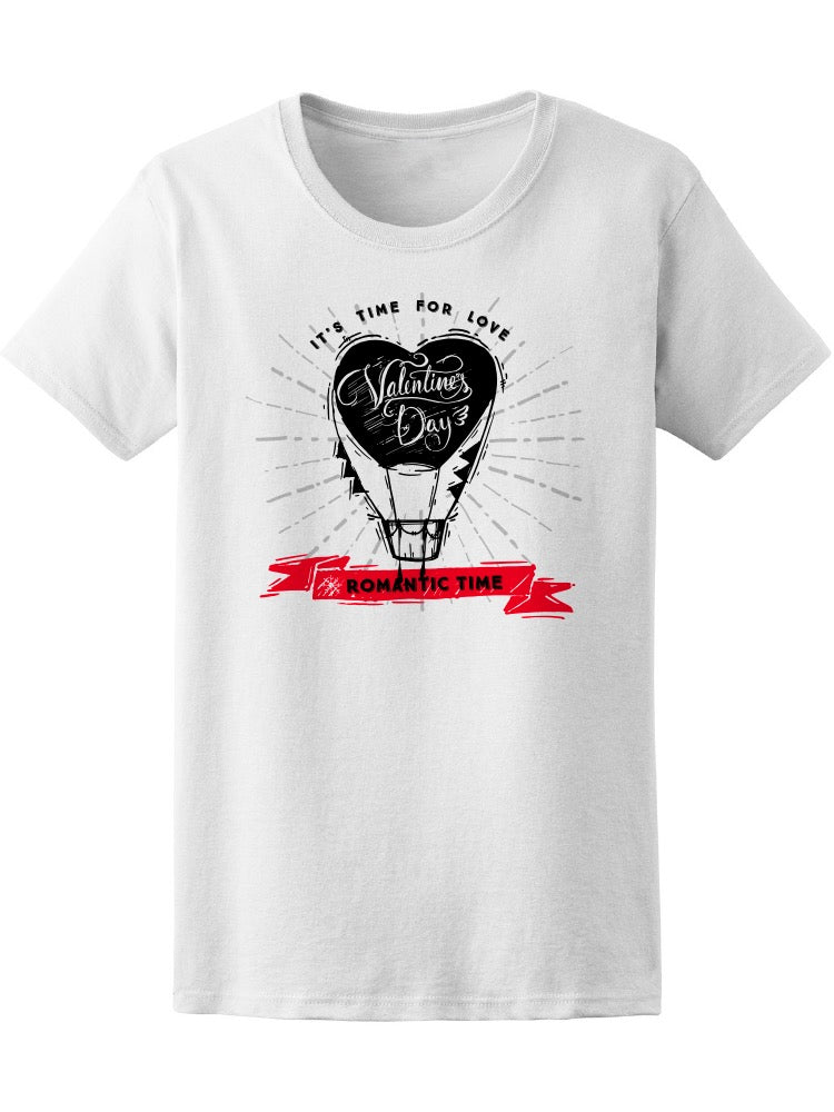 Balloon Valentine's Day Tee Women's -Image by Shutterstock