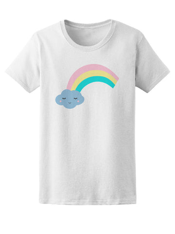 Cute Cloud & Rainbow Tee Women's -Image by Shutterstock