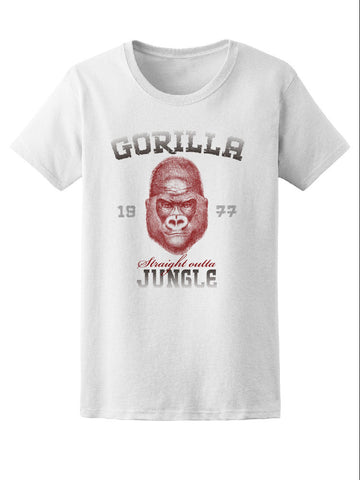 Gorilla Jungle Animal Tee Women's -Image by Shutterstock