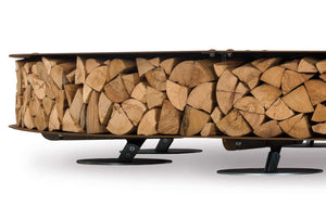 AK47 Design Zero Wood Large Wood-Burning Fire Pit - The Outdoor Fireplace Store