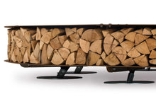 Load image into Gallery viewer, AK47 Design Zero Black Large Wood-Burning Fire Pit - The Outdoor Fireplace Store