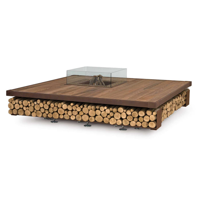 AK47 Design Opera Wood Wood-Burning Fire Pit