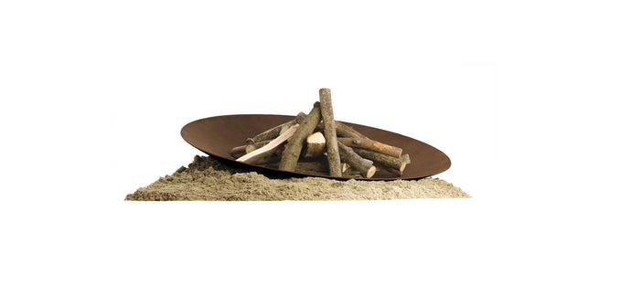 AK47 Design Discolo Small Wood-Burning Fire Pit - The Outdoor Fireplace Store
