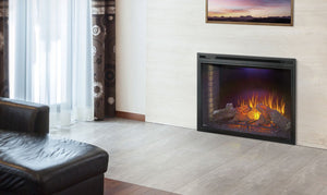 Napoleon Ascent 40 Built-In Electric Fireplace NEFB40H - The Outdoor Fireplace Store