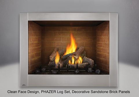 Napoleon Riverside 42 Clean Face Outdoor Gas Fireplace Gss42cfn