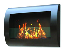 Load image into Gallery viewer, Anywhere Fireplace Chelsea Indoor Wall Mount - Black - The Outdoor Fireplace Store