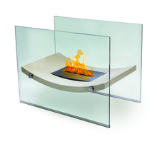 Load image into Gallery viewer, Anywhere Fireplace Broadway Indoor/Outdoor Floor Standing - Beige - The Outdoor Fireplace Store