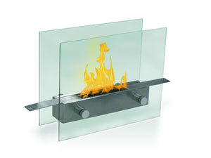 Anywhere Fireplace Metropolitan Indoor Table Top - Stainless Steel - The Outdoor Fireplace Store