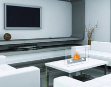 Load image into Gallery viewer, Anywhere Fireplace Metropolitan Indoor Table Top - Stainless Steel - The Outdoor Fireplace Store