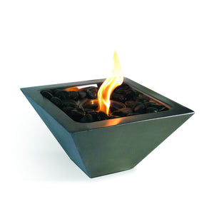 Anywhere Fireplace Empire Indoor/Outdoor Fireplace - Stainless Steel - The Outdoor Fireplace Store