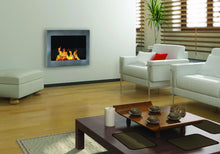 Load image into Gallery viewer, Anywhere Fireplace SoHo Indoor Wall Mount - Stainless Steel - The Outdoor Fireplace Store