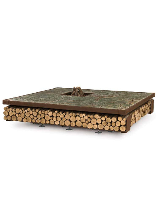 AK47 Design Opera Green Wood-Burning Fire Pit