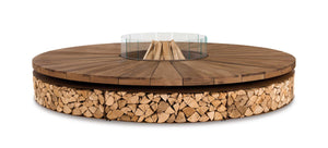 AK47 Design Artu' Wood-Burning Fire Pit - The Outdoor Fireplace Store
